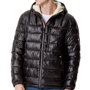 NWT - Tommy Hilfiger Sherpa Lined Puffer Jacket